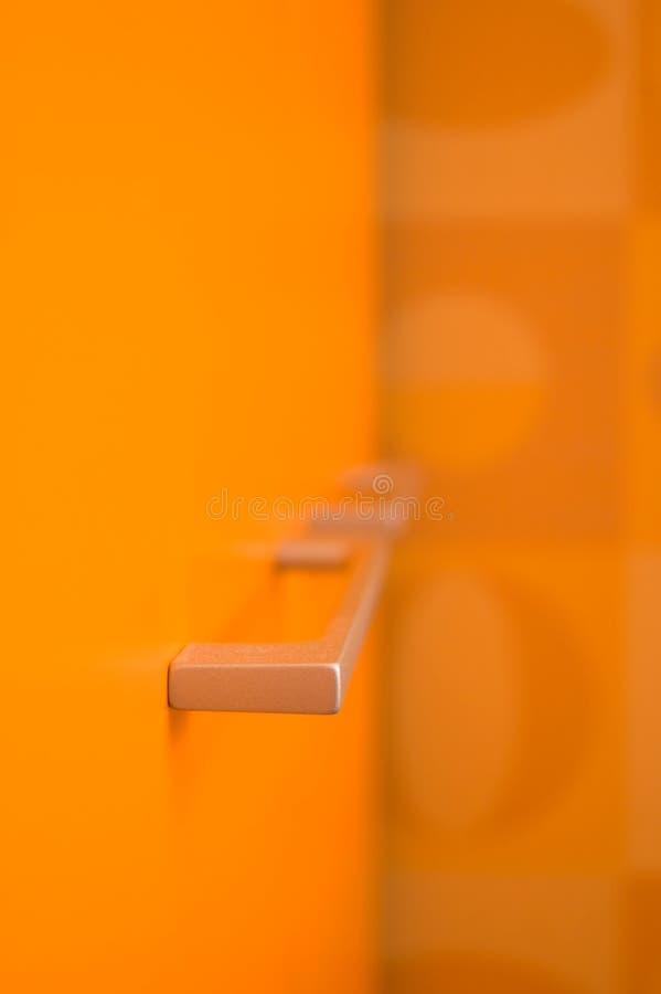 abstrakcyjnych klamki drzwi obrazy stock