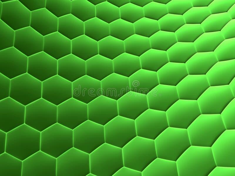 abstrakcyjnych komórek ilustracja wektor
