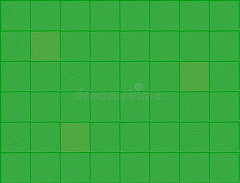 abstrakcyjnych tła dostrzegasz matematykę, co zielone. royalty ilustracja