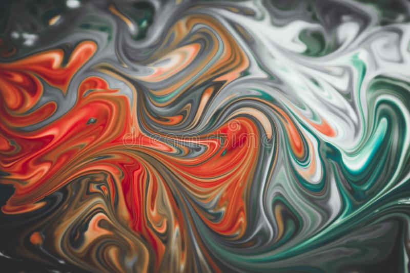 Abstraktów kolory mieszający wpólnie obraz royalty free