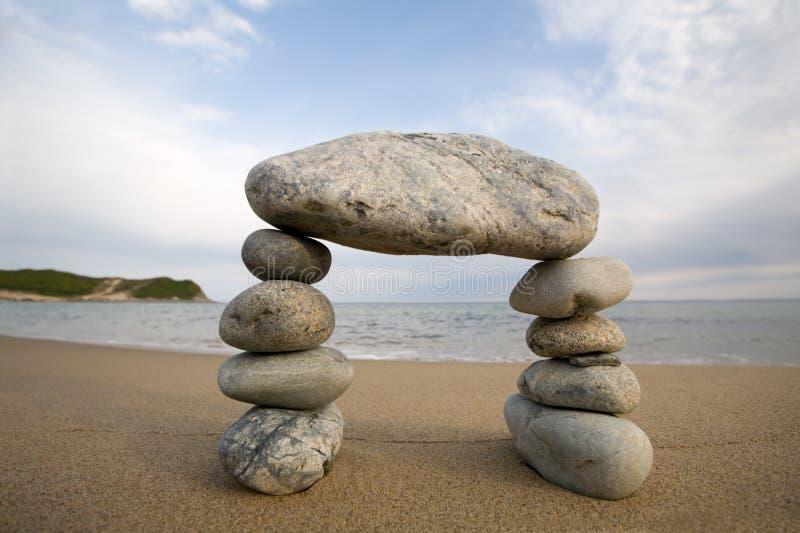 abstraktów łękowaci kamienie naturalne zdjęcie royalty free
