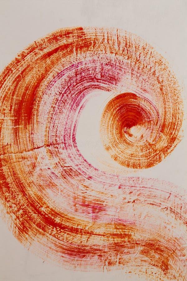 Abstraktów ślada ilustracja wektor