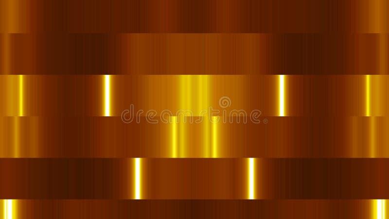 Abstraktów bloków światła Cyfrowego 3d renderingu tło royalty ilustracja