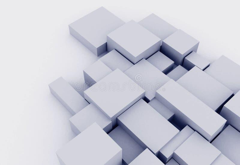 abstraktów kształty ilustracja wektor