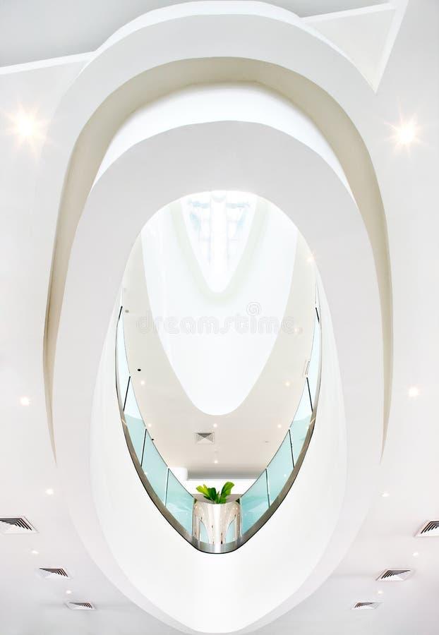 Abstraktów kształty w architekturze obrazy stock