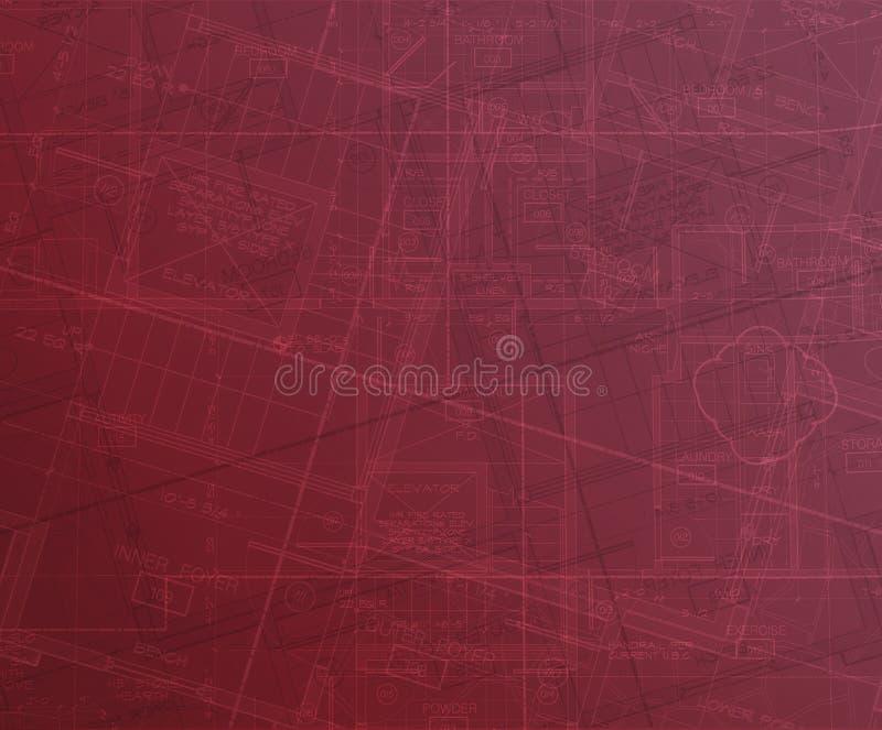 abstraktów plany ilustracja wektor