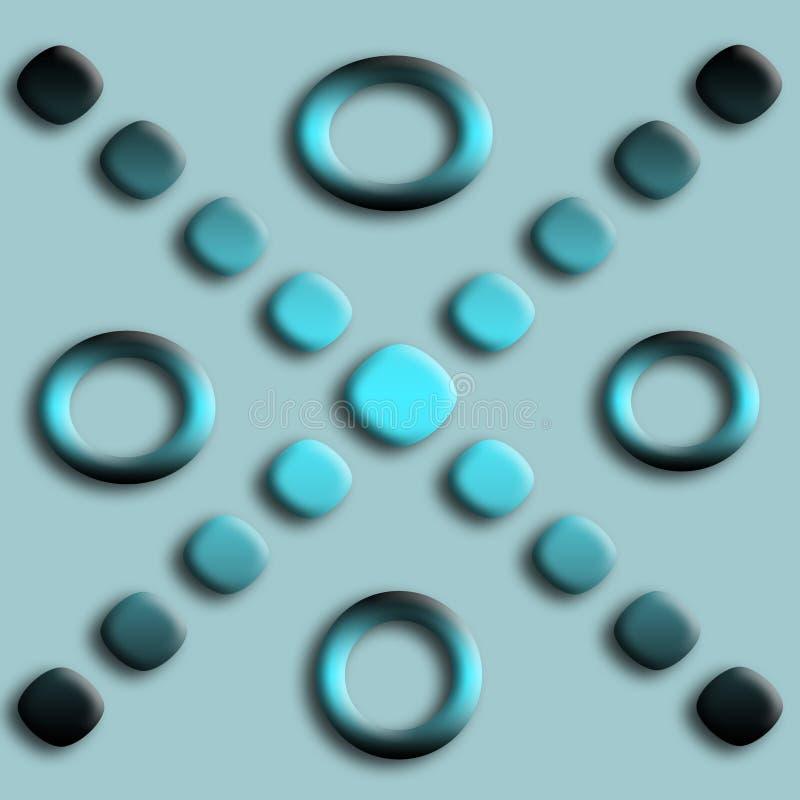 abstraktów przyciski ilustracja wektor