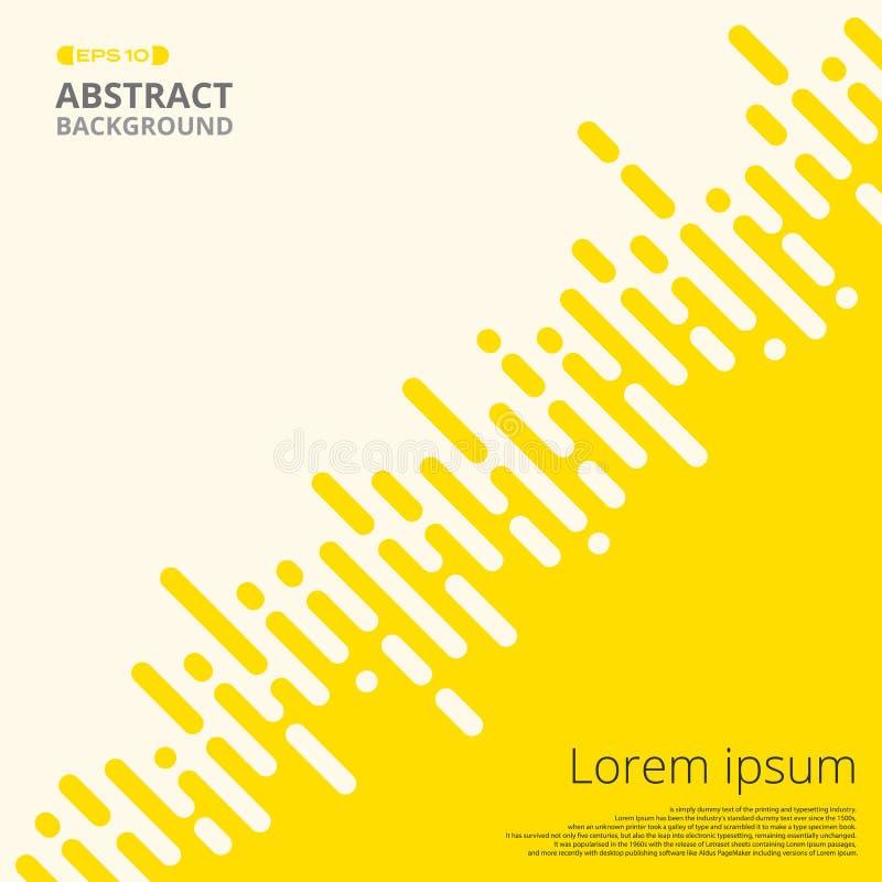 Abstrakt świeży żółty lampas wykłada dla biznesowego prezentaci tła, ilustracji