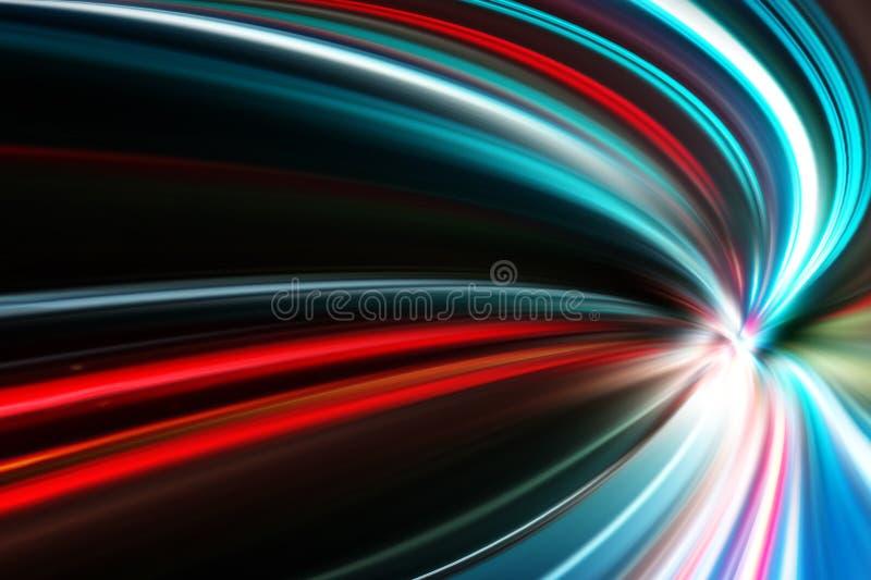 Abstrakt accelerationshastighetsrörelse arkivfoton