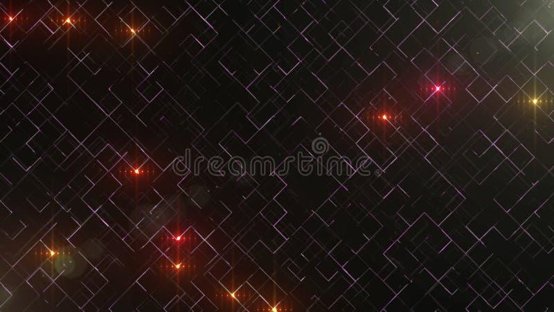 Abstrakt affärsvetenskap eller teknologibakgrund med tomt utrymme för text kopiera avstånd close upp Färgrika blicks på vektor illustrationer