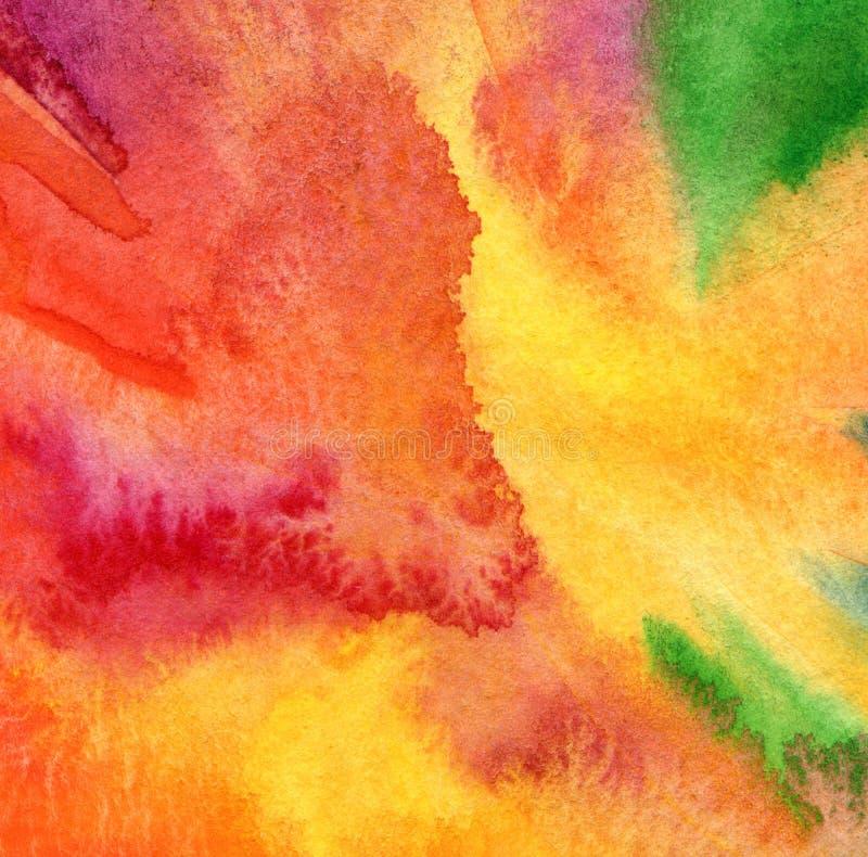 Abstrakt akryl och vattenfärgbakgrund arkivfoton