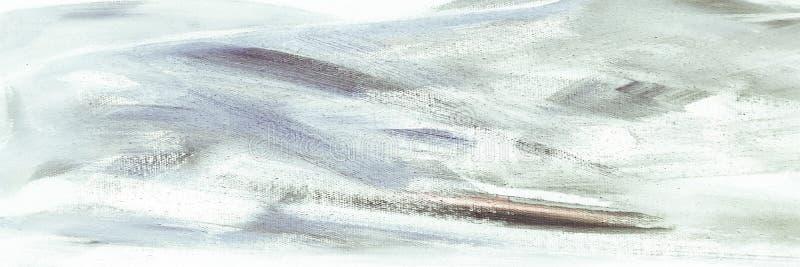 Abstrakt akrylowej farby nafciana tekstura na kanwie, ręcznie malowany tło JAŹŃ ROBIĆ malujący abstrakcjonistyczny akrylowy tło R zdjęcie stock