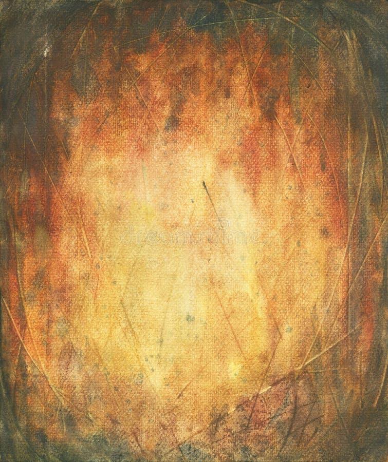 Abstrakt akvarelltextur arkivbilder
