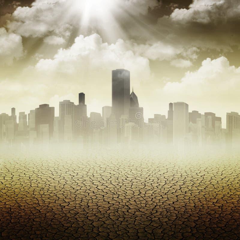 Abstrakt apokalyptiska bakgrunder royaltyfria bilder