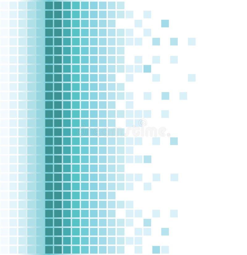 abstrakt aquabakgrund stock illustrationer