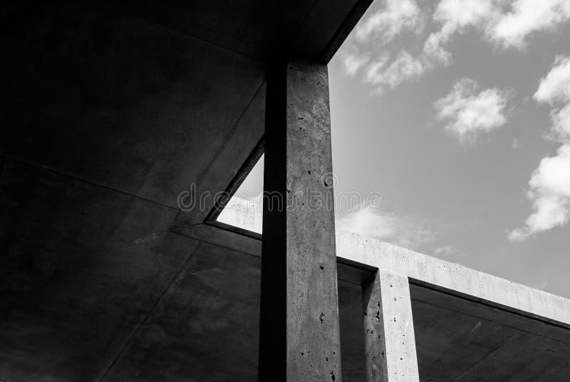 Abstrakt architektury Betonowy szczegół obrazy royalty free
