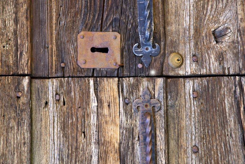 abstrakt arg wood dörrvarese Italien mornago fotografering för bildbyråer