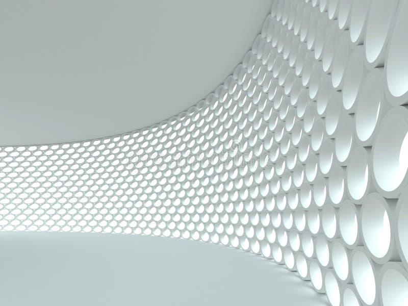 abstrakt arkitektonisk bakgrund vektor illustrationer