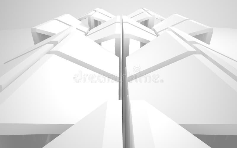 abstrakt arkitektur royaltyfri illustrationer