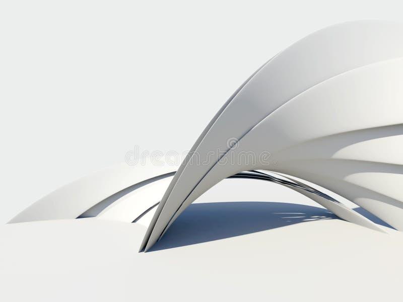 abstrakt arkitekturbakgrundsdatalista royaltyfri illustrationer