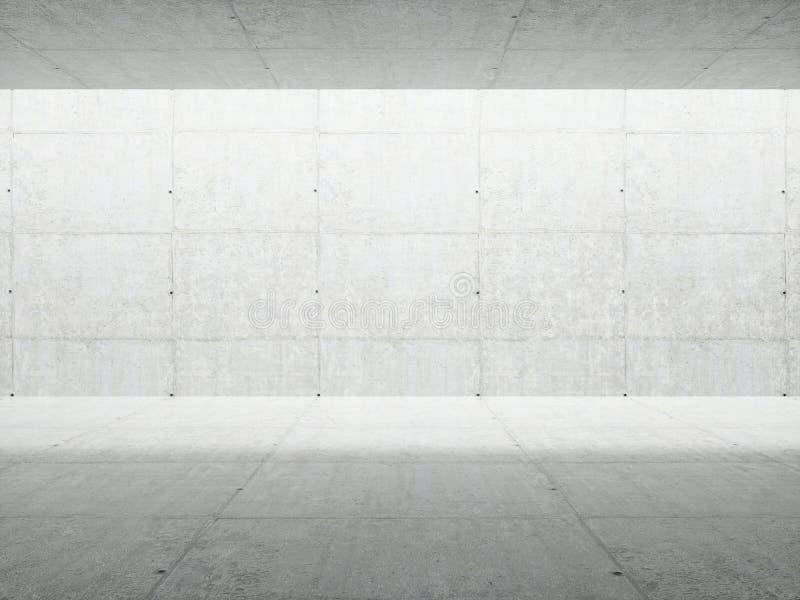 Abstrakt arkitekturInterior vektor illustrationer