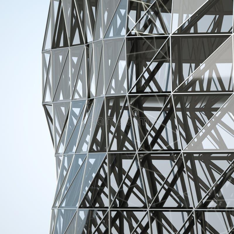 abstrakt arkitekturvägg royaltyfri foto