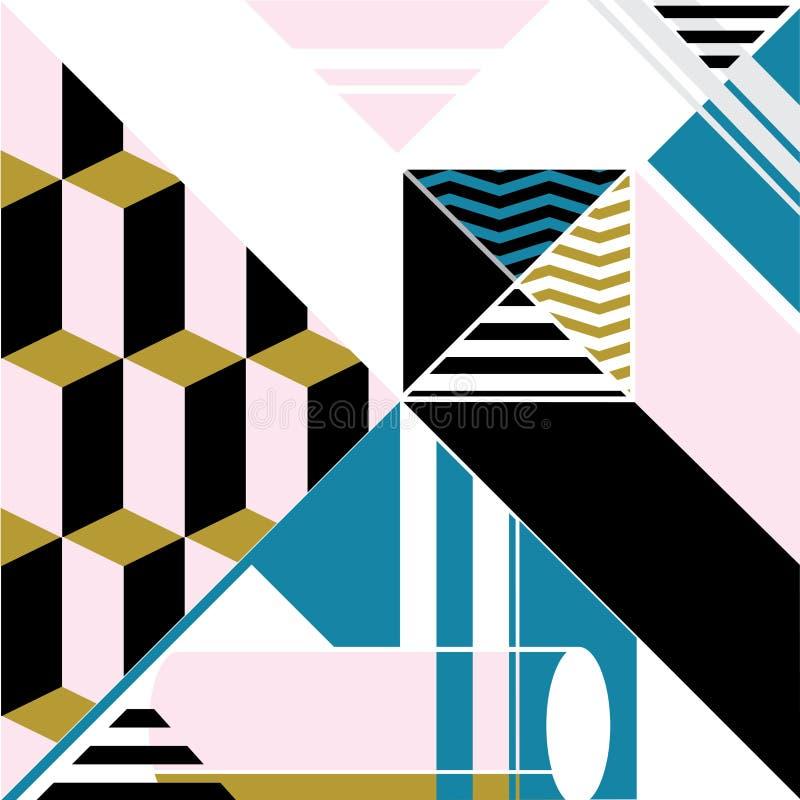 Abstrakt avant bakgrund för vektor royaltyfri illustrationer