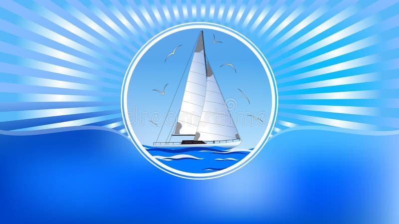 Abstrakt bakgrund är symboliserar sommar vektor vektor illustrationer