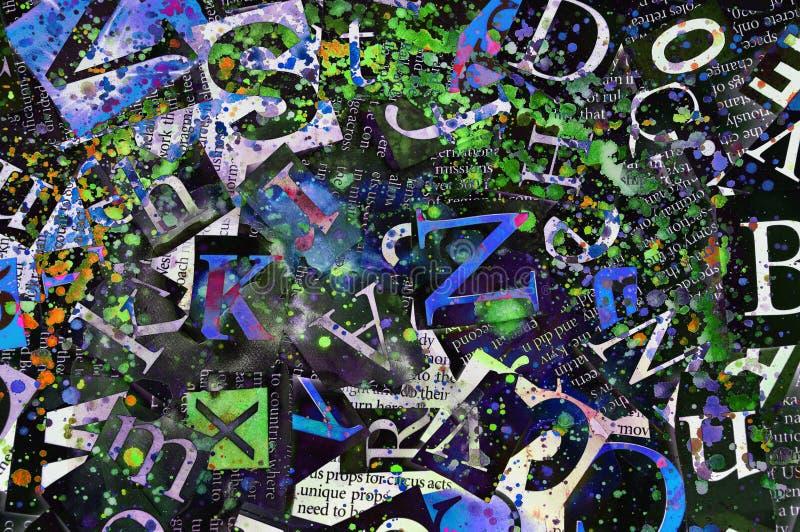 Abstrakt bakgrund royaltyfri illustrationer