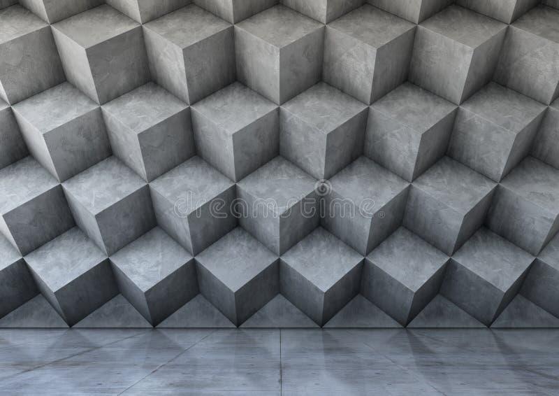 Abstrakt bakgrund av betongen royaltyfri fotografi