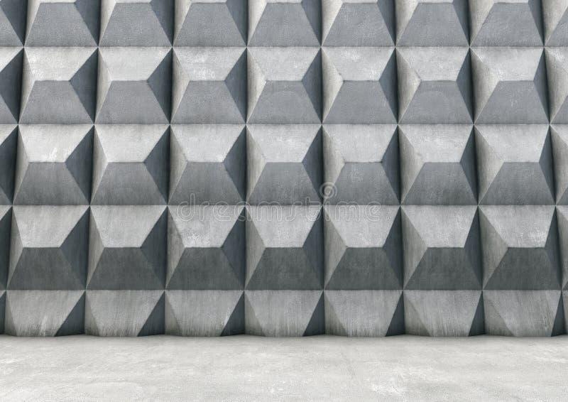 Abstrakt bakgrund av betongen vektor illustrationer