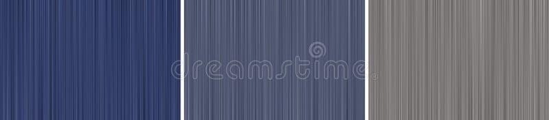 Abstrakt bakgrund av bl?a rastrerade oskarpa linjer stock illustrationer