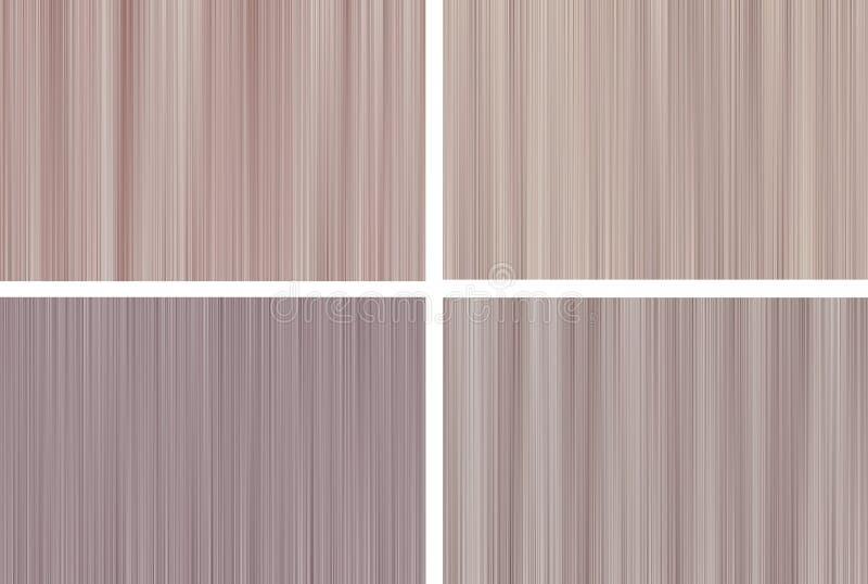 Abstrakt bakgrund av bruna rastrerade oskarpa linjer royaltyfri fotografi