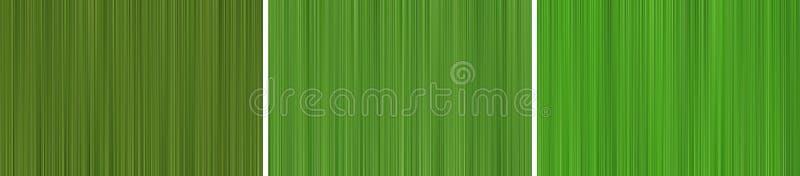 Abstrakt bakgrund av gr?na rastrerade oskarpa linjer stock illustrationer