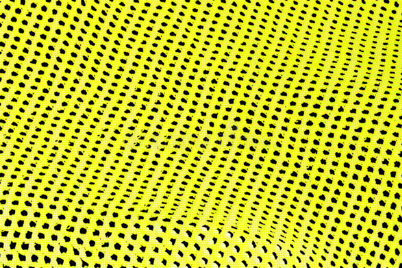 Abstrakt bakgrund av gula och svarta hål i rad royaltyfri fotografi