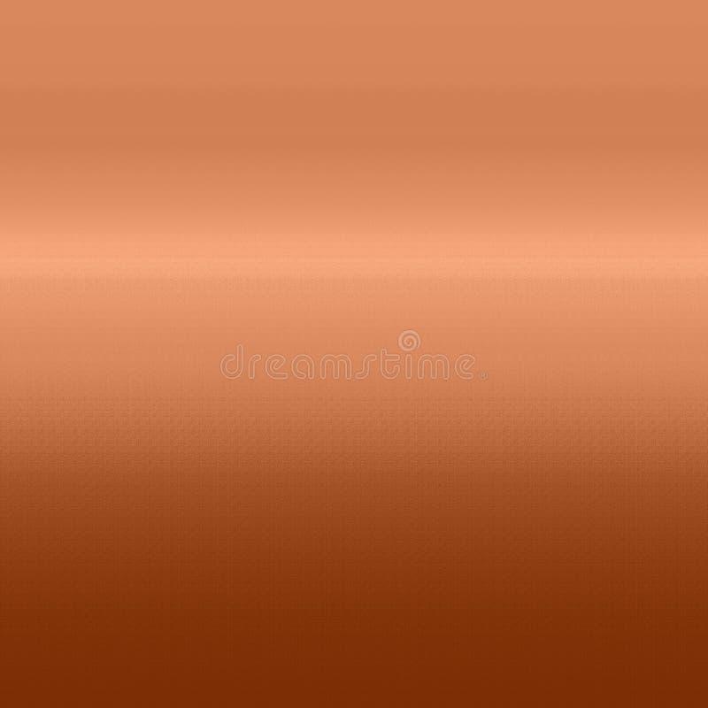 Abstrakt bakgrund av kopparfärg, med textur royaltyfri illustrationer