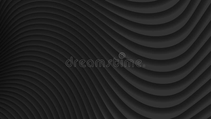 Abstrakt bakgrund av kurvor stock illustrationer