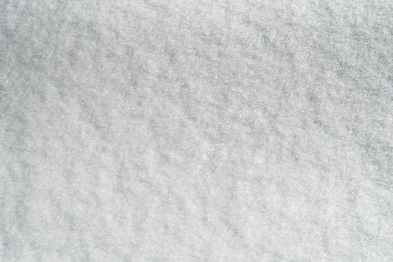 Abstrakt bakgrund av ny vit snö, ren ny snö fotografering för bildbyråer