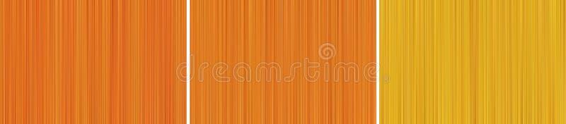 Abstrakt bakgrund av orange rastrerade oskarpa linjer royaltyfri illustrationer