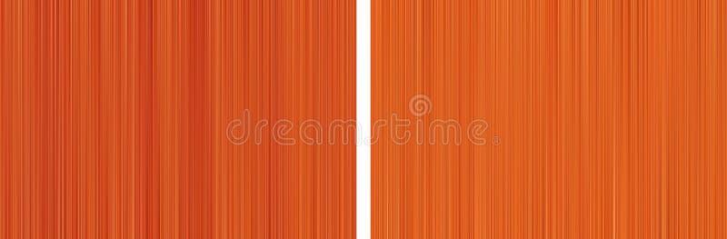 Abstrakt bakgrund av orange rastrerade oskarpa linjer royaltyfria bilder