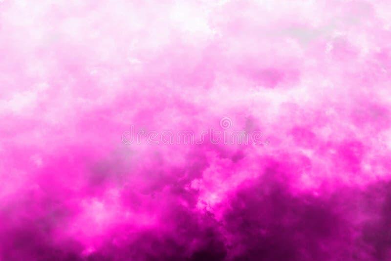 Abstrakt bakgrund av violetta moln arkivfoton