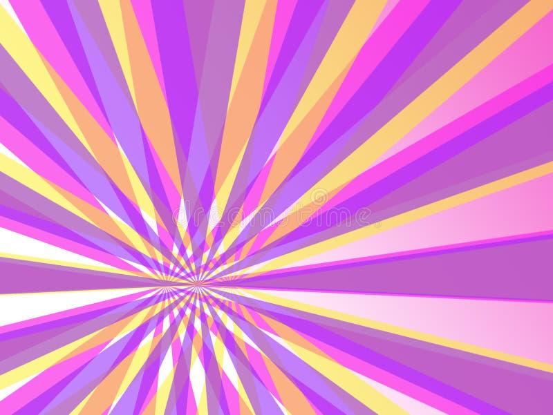 abstrakt bakgrund colors groovy textur royaltyfri illustrationer