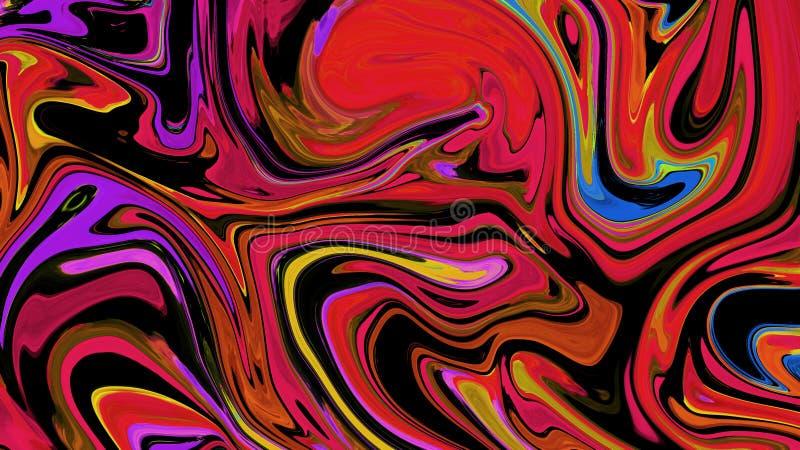 Abstrakt bakgrund Digital f?r v?tskev?g Linje konstn?rlig textur f?r r?kningen, reklamblad stock illustrationer