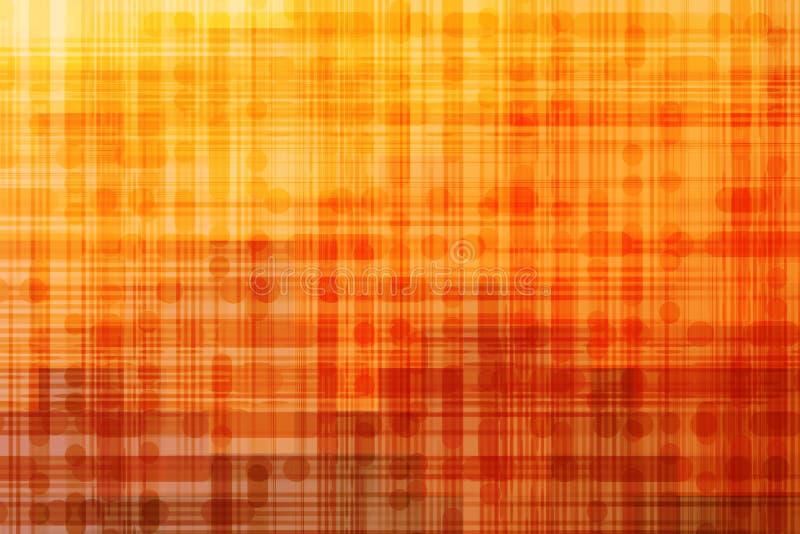 Abstrakt bakgrund för apelsin stock illustrationer