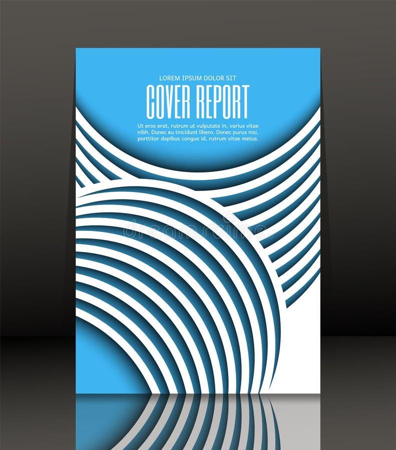 Abstrakt bakgrund för broschyren, räkning Mall för affischen vektor vektor illustrationer