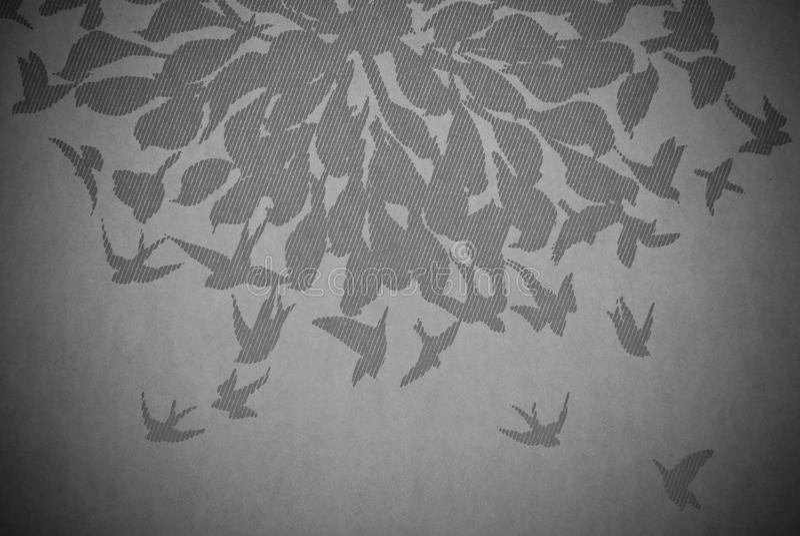 Abstrakt bakgrund för fågel arkivbild