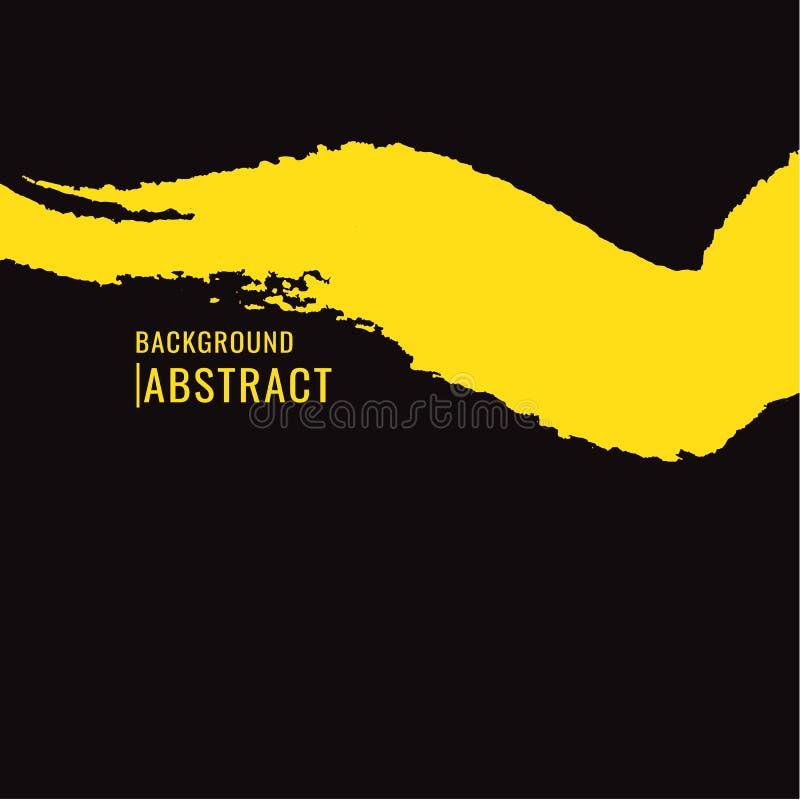 abstrakt bakgrund För grungebaner för vektor färgrika borstar r stock illustrationer