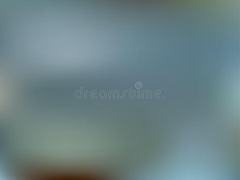 Abstrakt bakgrund för havaqualutning Blå suddighetsvattenbackdro stock illustrationer
