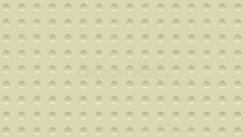 abstrakt bakgrund för illustration 3d med en vägg med skrattgropen royaltyfri bild