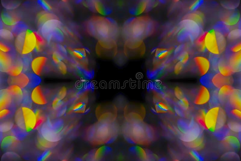 Abstrakt bakgrund för kalejdoskop arkivbild